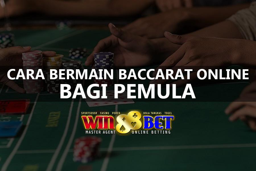 Cara Bermain Baccarat Online Live Casino Sbobet Resmi
